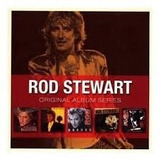 Cd Rod Stewart Box Set 5cd   Original Album Series
