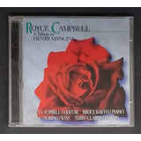 Cd Royce Campbell A Tribute To Henry Mancini   Seminovo