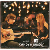 Cd Sandy & Junior   Acústico Mtv   Novo