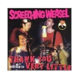 Cd Screeching Weasel Thank You Very Little  Usa 2 Cd