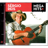 Cd Sérgio Reis   Mega Hits