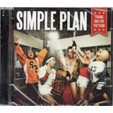 Cd Simple Plan Talking One For The Team Original Lacrado