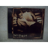 Cd Single Babyface  This Is For Lover In You  Importado