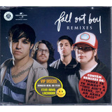 Cd Single Fall Out Boy Remixes 11 Versões   Lacrado