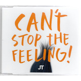 Cd Single Justin Timberlake   Can t Stop The Feeling