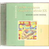 Cd Songbook As 101 Melhores Cancoes Do Seculo Xx V 1  Lumiar