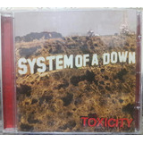 Cd System Of A Down Álbum Toxicity  original