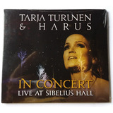 Cd Tarja Turunen & Harus - In Concert  Live At Sibelius Hall