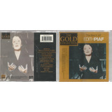 Cd The Best Of Edith Piaf   Gold Collection Bonellihq Cx491