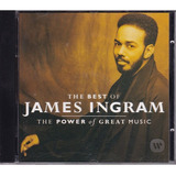 Cd The Best Of James Ingram   The Power Of Great Music   Imp