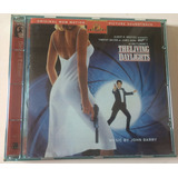 Cd The Living Daylights   James Bond 007   Poster Original