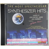 Cd The Most Spetacular - Synthesizer Hits Vangelis - Hc