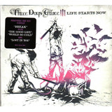 Cd Three Days Grace Life Starts Now  import  Novo Lacrado