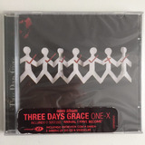 Cd Three Days Grace One x  2006    1ª Edição Raro Lacrado