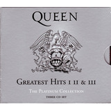 Cd Triplo Importado  Queen  Greatest Hits I  Ii E Iii 927474