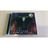 Cd Vader   Live In Japan   Cd Duplo Importado   Usado
