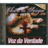 Cd Voz Da Verdade   Chuva De Sangue   Playback Original Lacr