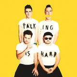 Cd Walk The Moon   Talking Is Hard  2014    Lacrado Original