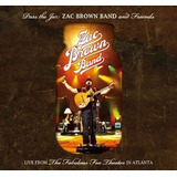Cd Zac Brown Band Pass The Jar: Zac Brown Band & Friends Hel