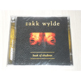 Cd Zakk Wylde   Book Of Shadows  alemão Duplo  Lacrado