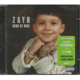 Cd Zayn   Mind Of Mine  deluxe Edition  Lacrado