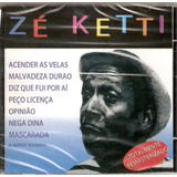 Cd Zé Ketti   Acender As Velas   Novo