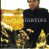 Cd five For Fighting the Battle For Everything otimo Estado