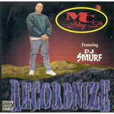 Cd mc Shy D recordnize feat dj Smurf import em Otimo Estado