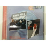 Cd single Promo simple Plan green Day claro Q É Rock