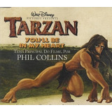 Cd single tarzan phil Collins you ll Be In My Heart nacional