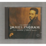 Cd the Best Of James Ingram the Power Of Great Music import