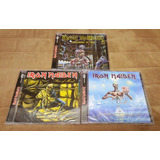 Cds Iron Maiden: Seventh Son piece Of Mind somewhere In Time