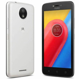 Celular Moto C 16gb 4g Android 7 Wifi Gps 2 Chips Cam 5mpx