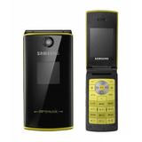Celular Samsung E215 Preto Com Camera  Mp3  Fm  Bluetooth