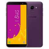 Celular Samsung J6 Galaxy Violeta 64gb Tela 5 6   Tv Digital