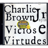 Charlie Brown Jr Cd Single Vicios E Virtudes   Lacrado Raro