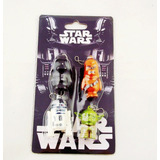 Chaveiro Star Wars   R2 d2   Darth Vader   Chewbacca   Yoda