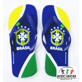Chinelo Brasil Oficial Domenicca Adulto  Original  Nf