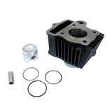 Cilindro Do Motor Kit Pist�o An�is Standard Shineray Xy50 Q