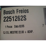 Cilindro Mestre Escort Verona Apollo At� 92 Bosch Bendix
