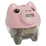 Cofre Digital Pig bank Porco Rosa