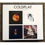 Coldplay Box 4 Cds Lacrado