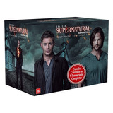 Cole��o Supernatural 9 Temporadas   53 Dvds Original Lacrado