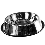 Comedouro Antiderrapante Inox P  C�es E Gatos 1500ml Pet 164