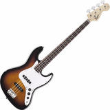 Contra Baixo Fender Jazz Bass Squier Affinity Brown Sunburst