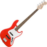 Contra Baixo Fender Squier Affinity Jazz Bass Racing Red