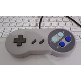Controle Usb Super Nintendo Snes Para Pc Mac Raspberry Pi