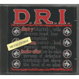 D r i    Definition Cd Imp Novo 1992 Sexto Álbum