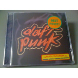 Daft Punk Homework  1o  Album  Cd Lacrado Europeu: Importado