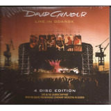 David Gilmour Live In Gdanks 4 Disc Edition 2 Dvd   2 Cd
